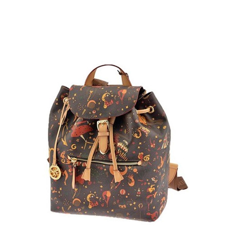 c9ed12e90b Zaino Donna Piero Guidi Magic Circus backpack 215054088 marrone pelle