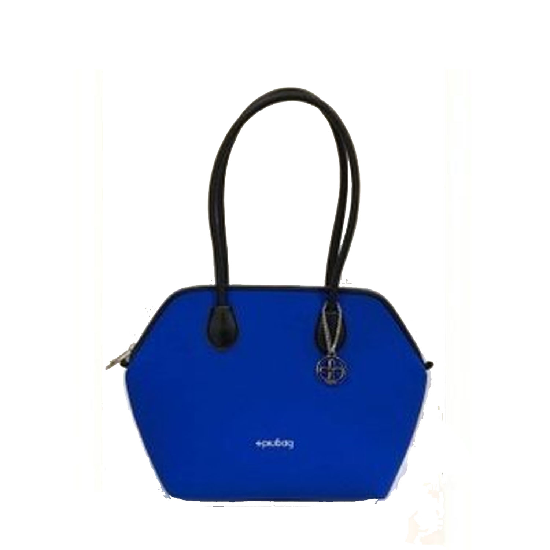 Piubag Shopping Bluette Genova Grande Mod Borsa Donna Neoprene Fantasia U7SPwnxFq