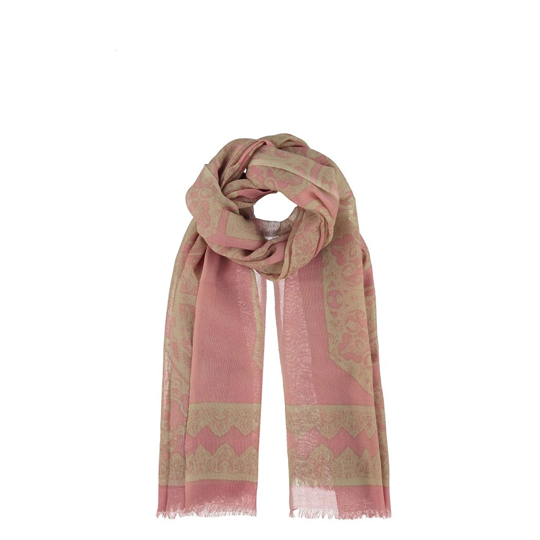 l'atteggiamento migliore da225 17dc3 Dettagli su Sciarpa donna lana Passigatti invernale rosa scialle foulard  scarf fantasia