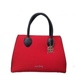 f3ef388886 Borsa donna a mano e a tracolla – PiuBag -Siena Mini Rosso